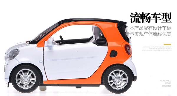 โมเดลรถเหล็ก โมเดลรถยนต์ Benz Smart 7
