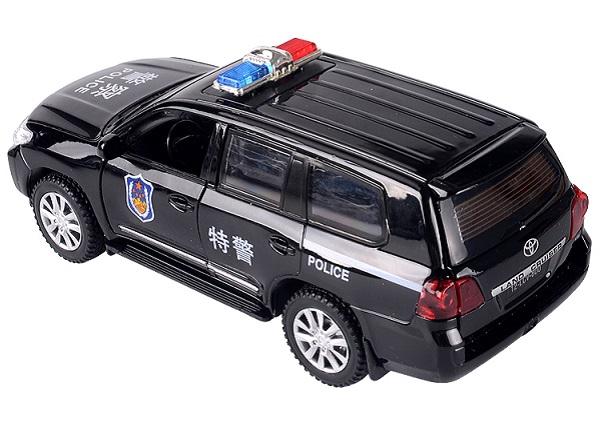 โมเดลรถเหล็ก โมเดลรถยนต์ toyota police 2