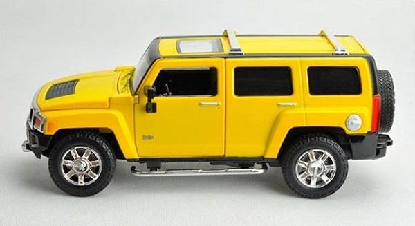 โมเดลรถเหล็ก โมเดลรถยนต์ Hummer H3 3