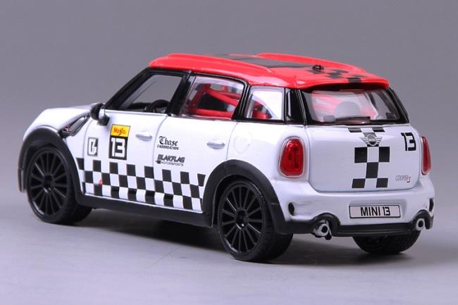 โมเดลรถ โมเดลรถเหล็ก โมเดลรถยนต์ BMW mini country No 13 3