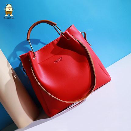กระเป๋า Beibaobao ของแท้ รุ่น BA2209 (Red)