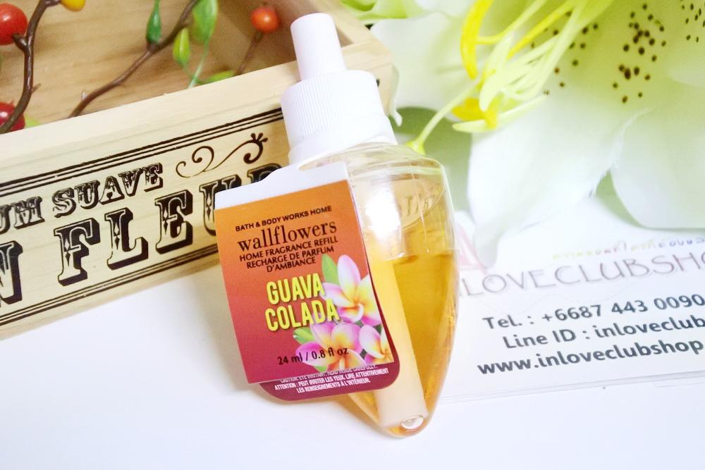 Bath & Body Works / Wallflowers Fragrance Refill 24 ml. (Guava Colada)