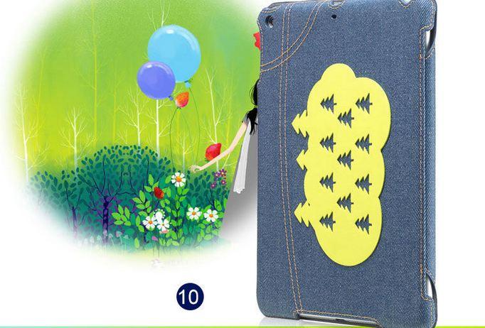 เคส iPad air 1 เคสยีนส์ แต่งลาย ต้น คริสมาส สีเขียว คลาสสิค ดีไซน์ จากประเทศ อังกฤษ เคสแบบสวย ๆ จาก London เคสเปิดปิด อัตโนมัติ 396281_9