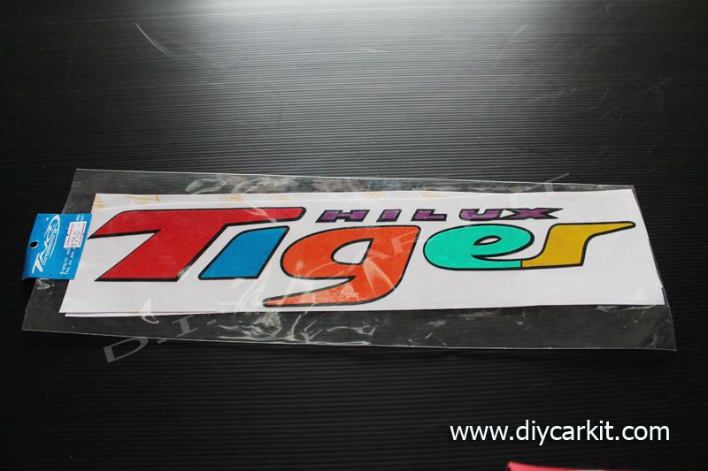 สติ๊กเกอร์สะท้อนแสงติดรถ Tiger