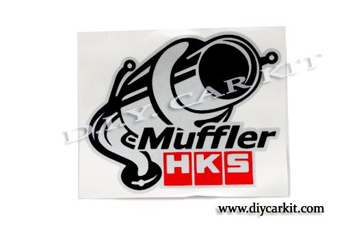 สติ๊กเกอร์ Muffler