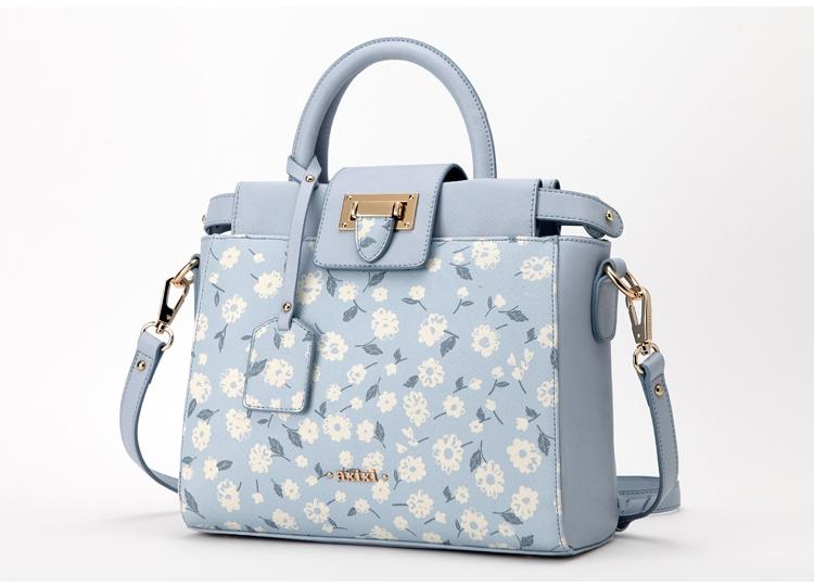 กระเป๋า Axixi ของแท้ รุ่น 11774 (Pale Blue)