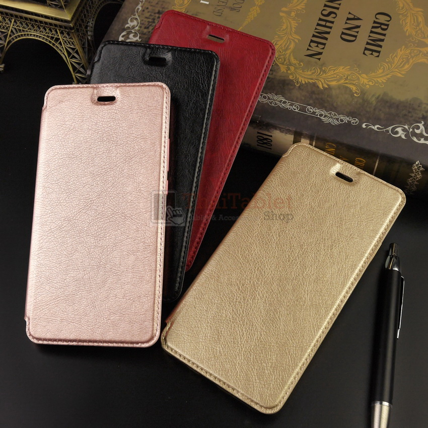 Platinum Leather Case For Huawei Y5 2017