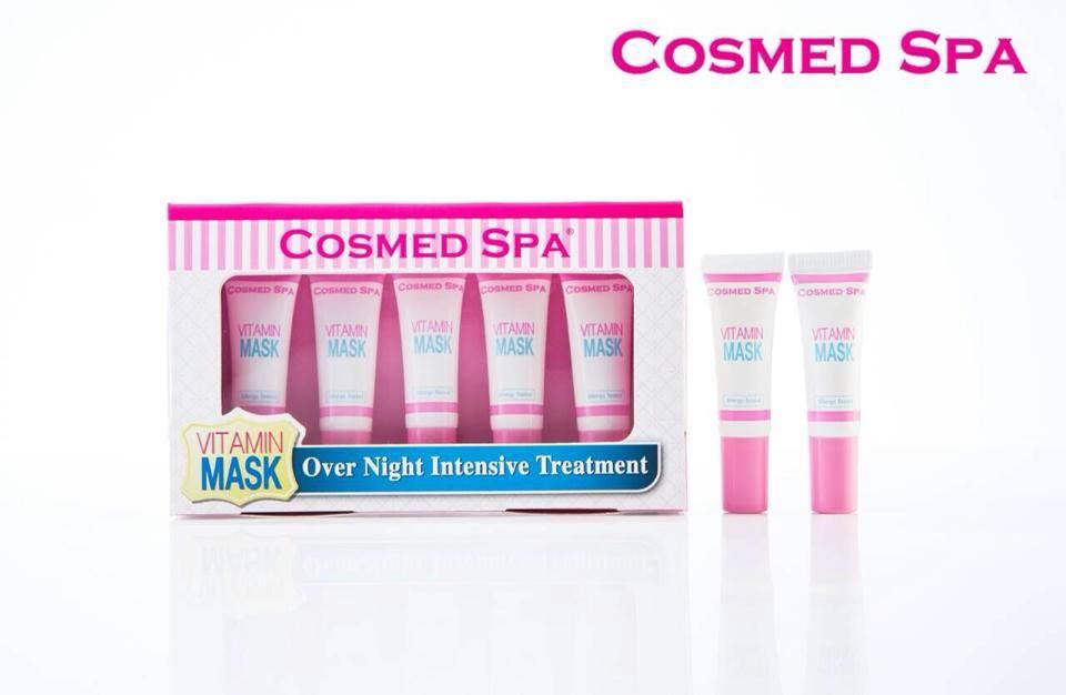 **พร้อมส่ง** มาส์กหน้าใสสุดเทพ Cosmed Spa - Vitamin Mask **แบบ แพ็คเกจใหม่** ส่วนผสมพรีเมี่ยมกว่าเดิม แต่ยังคงคุณค่าสูตรเดิมไว้ไม่เปลี่ยนแปลง