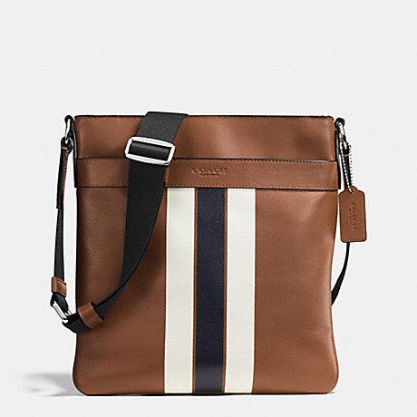 กระเป๋าผู้ชาย COACH CHARLES CROSSBODY VARSITY LEATHER F54193