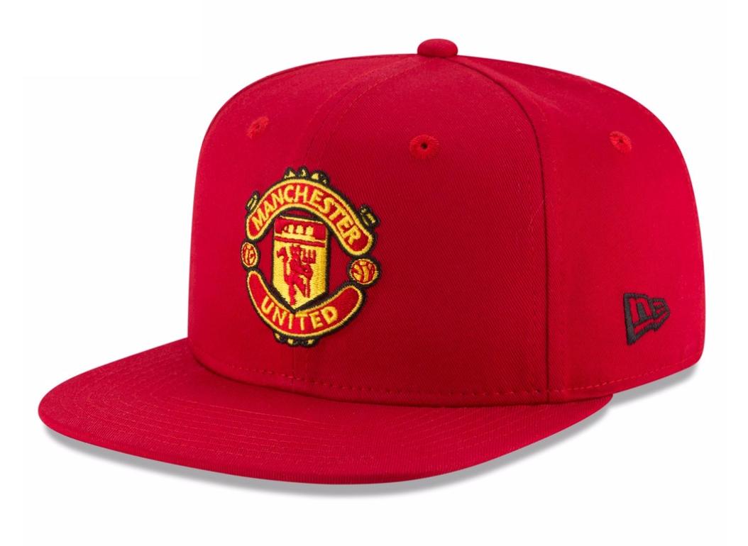 หมวกแมนเชสเตอร์ ยูไนเต็ด New Era ของแท้ Manchester United New Era Visor Print 9FIFTY Snapback Cap