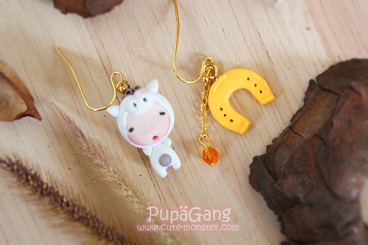 Pupa gang Chinese zodiac : Horse
