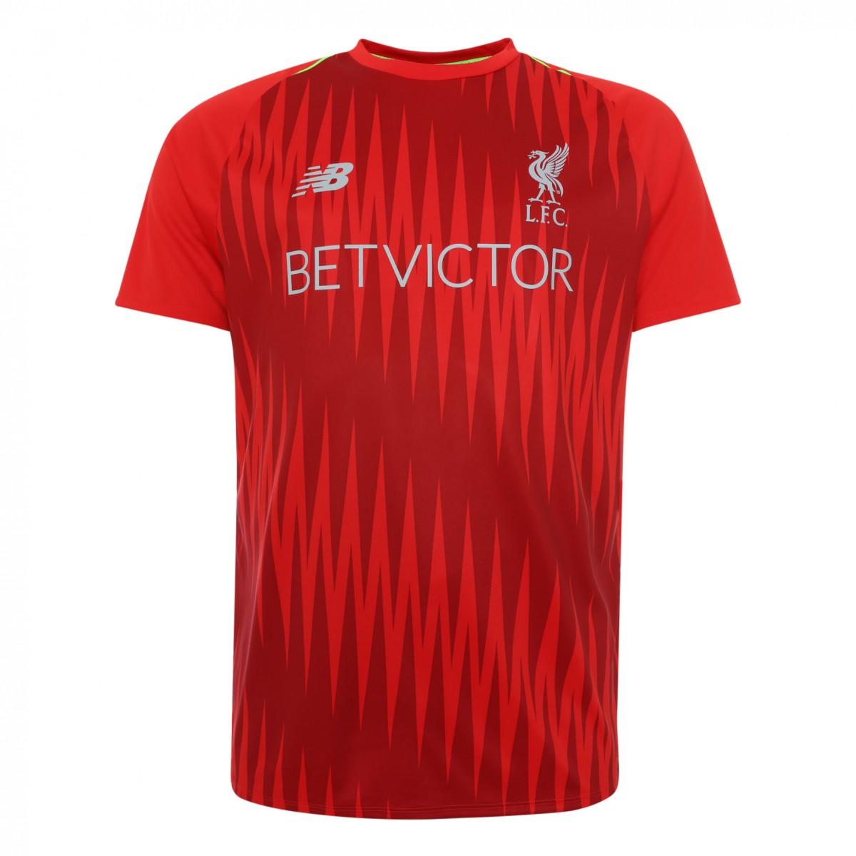 เสื้อเทรนนิ่งลิเวอร์พูล 2018-2019 Training Match Jersey สีแดงของแท้