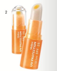 *พร้อมส่ง* Mistine UV Protection Lip Care SPF25 ลิปมันกันแดด เนื้อ 2 ชั้น
