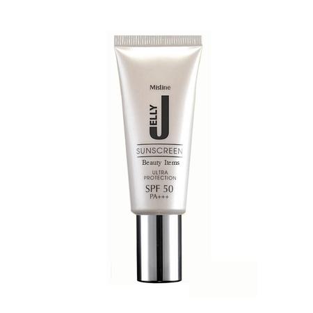 *พร้อมส่ง* Mistine JELLY SUNSCREEN Ultra Protection SPF50 PA+++ เจลกันแดด มิสทีน เจลลี่ เนื้อสัมผัสเบา เกลี่ยง่าย ชุ่มชื่นเข้าได้ทุกสีผิว