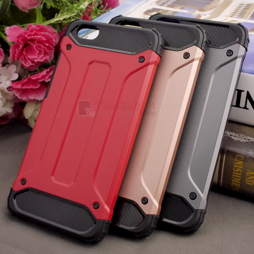 Rugged Hybrid Dual Layer Armor Case Cover For Vivo Y55