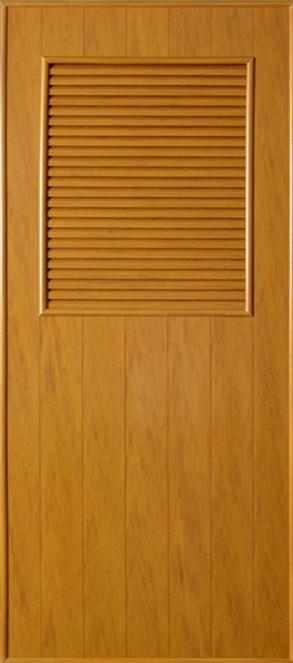 ประตูพีวีซี CHAMP P3 ลายไม้ 60x180