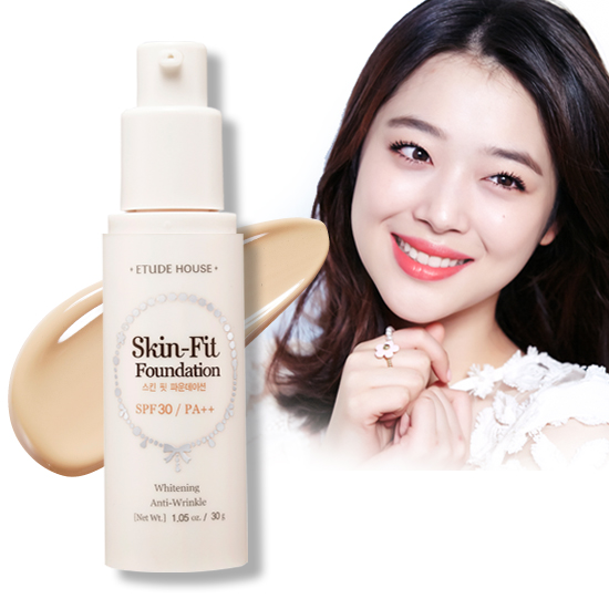 Etude House - Skin-Fit Foundation SPF30 PA++ #No.N02