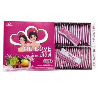 Me Love Plus & Gold Collagen 80,000 mg. 40 ซอง