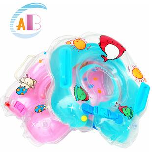 ห่วงยางสวมคอว่ายน้ำ สำหรับทารก ยี่ห้อ ABC ลายโลมาน้อย