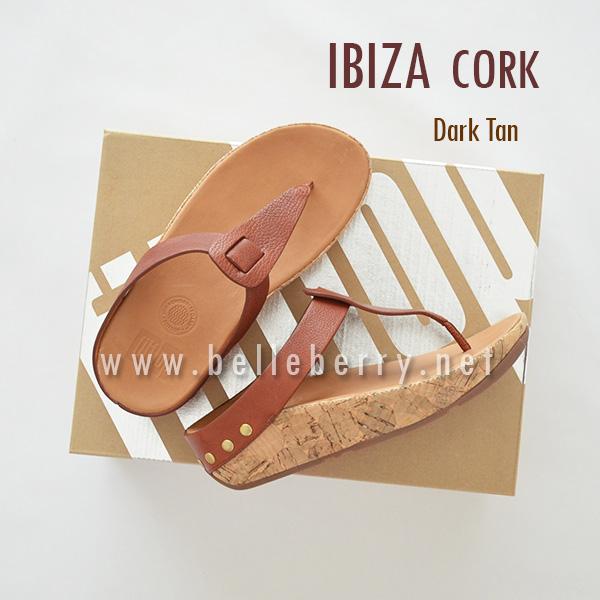 1c2f033b636 NEW   FitFlop IBIZA Cork   Dark Tan   Size US 6   EU 37 - รองเท้า ...