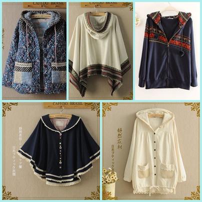 ร้านพรีออเดอร์เสื้อคลุม กันหนาวสไตล์ญี่ปุ่น ราคาถูกคุณภาพดี