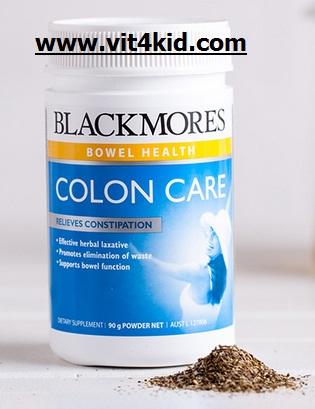 Blackmores Colon Cares สมุนไพรผง 9 ชนิด ใช้ DETOX ล้างลำไส้ 30ครั้ง ช่วยให้ขับถ่ายสบาย ขจัดสิ่งอุดตัน ขัดล้างลำไส้ ลดสารตกค้าง (แนะนำ exp.03/2019)