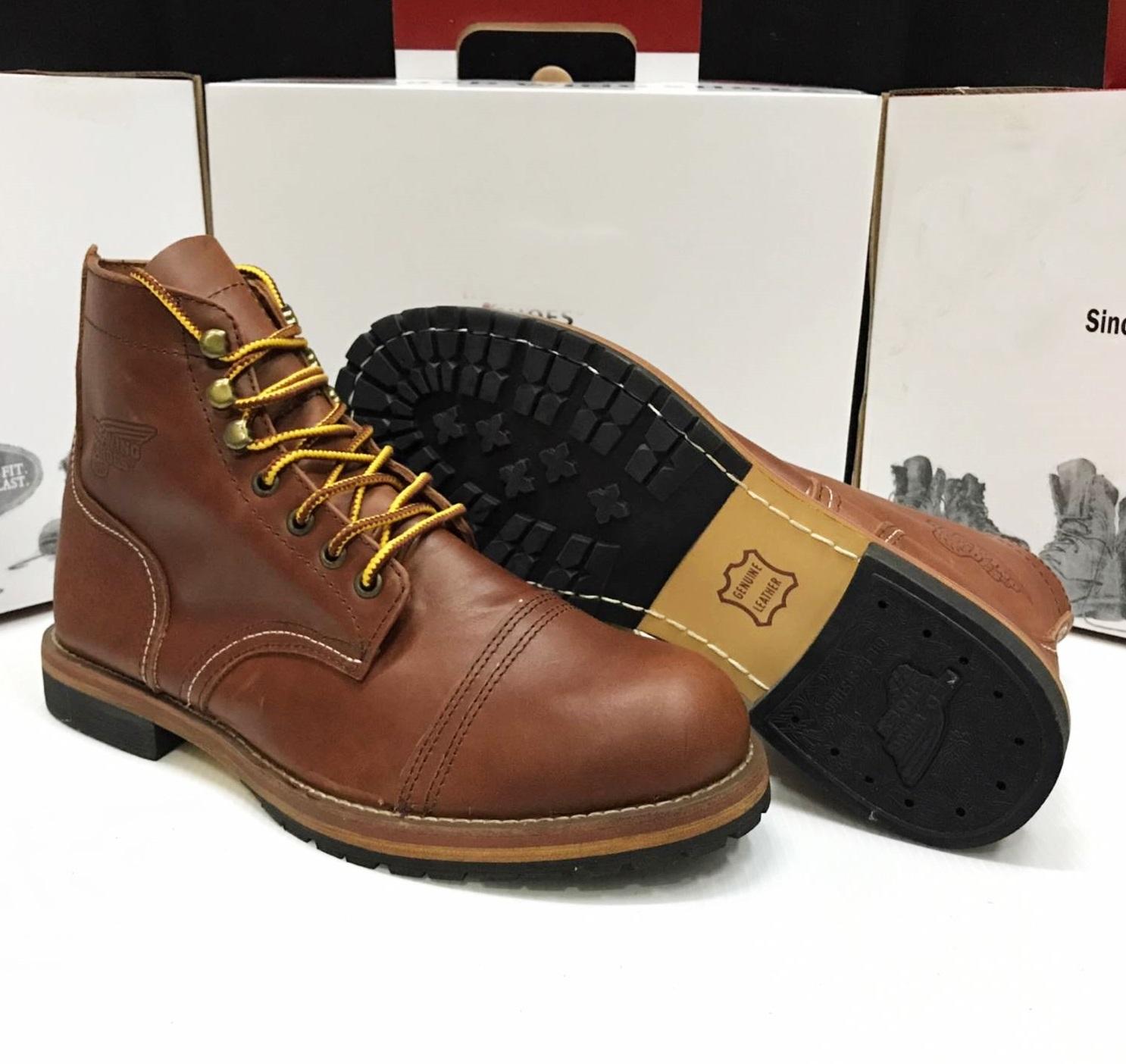 รองเท้าหนังเรดวิง Red Wing 9013 งานมิลเลอร์ หนังแท้ size 40-45