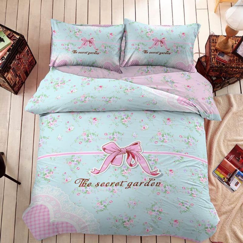 ชุดผ้าปูที่นอนเกรดพรีเมี่ยม ขนาด 6 ฟุต 6 ชิ้น (ส่งฟรี) )