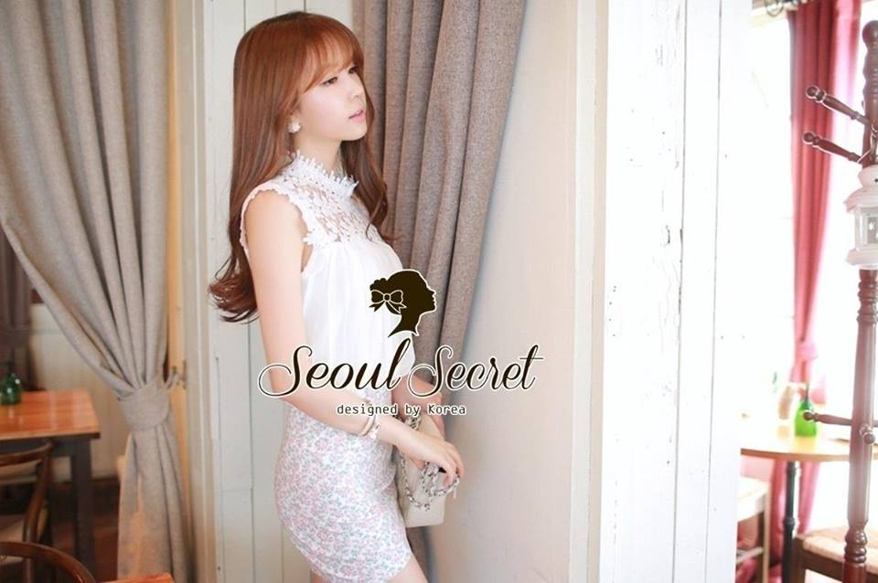 Chill Cami Blouse Bloom Laces by Seoul Secret