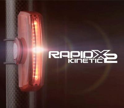 CATEYE : TL-LD710-K RAPID X2 Kinetic ไฟท้าย USB 50 ลูเมน