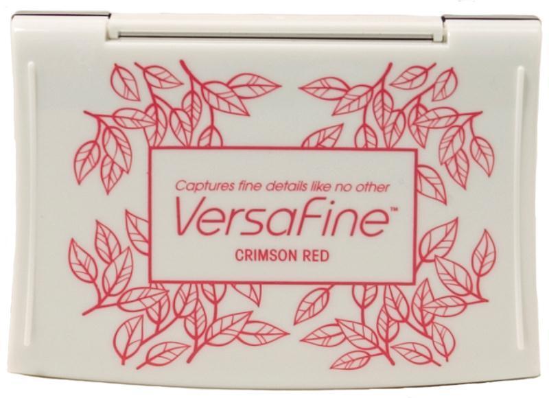 หมึกปั๊มกระดาษ crimson red (ใหญ่)