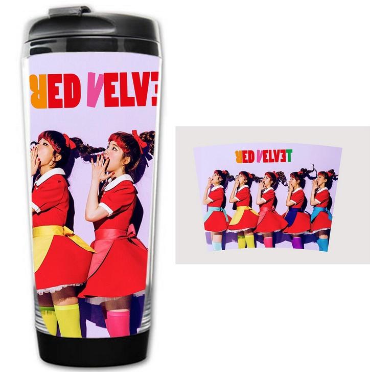แก้วน้ำเก็บความเย็น 400 ML. : Red Velvet