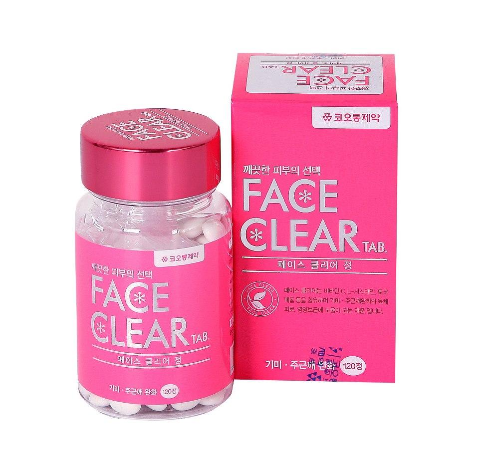 FACE CLEAR TAB