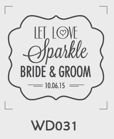 ตราปั๊มงานแต่ง WD031