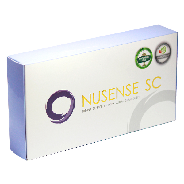 Nusense SC นูเซนส์ เอสซี สเต็มเซลล์ เพื่อผิวสวย ใส