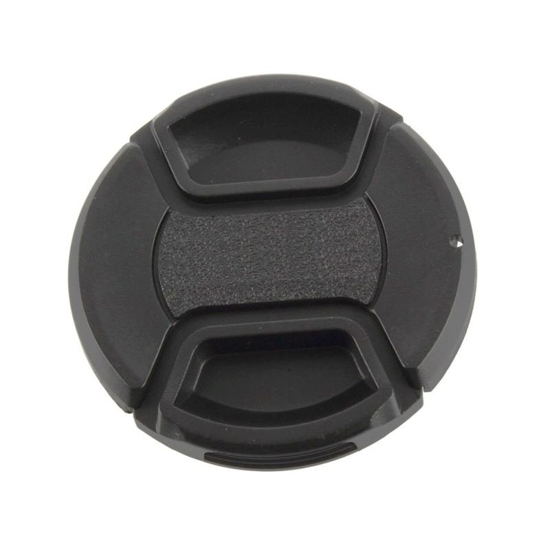 Lens Cap ฝาปิดหน้าเลนส์ ไม่มีโลโก้ หลายขนาด 37 39 40.5 43 46 49 52 55 58 62 67 72 77 mm.