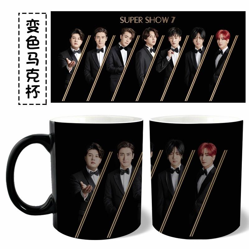 แก้วมัค SJ สีดำ เลือกลายได้