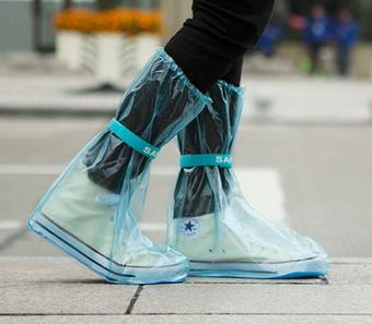 ถุงคลุมรองเท้า ลุยน้ำ