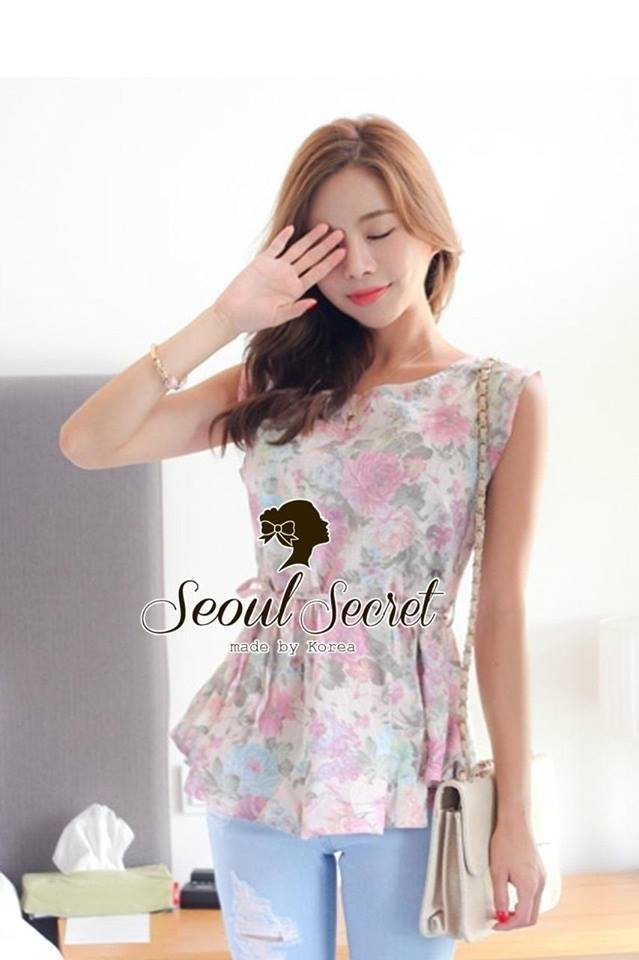 Pastel Style Chic Blouse by Seoul Secret