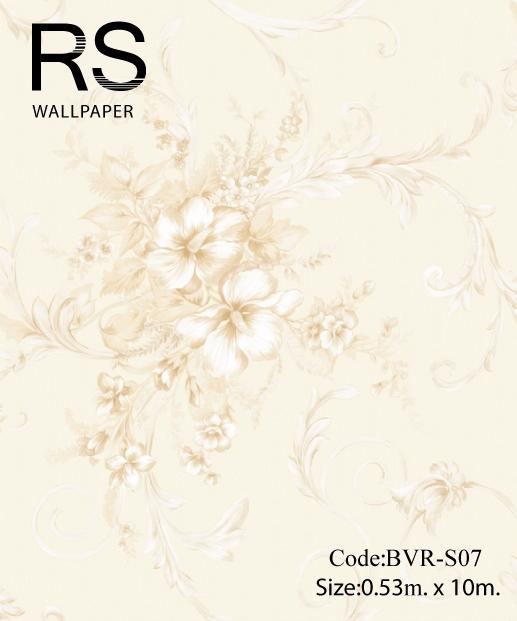 วอลเปเปอร์ลายดอกไม้ BVR-S07