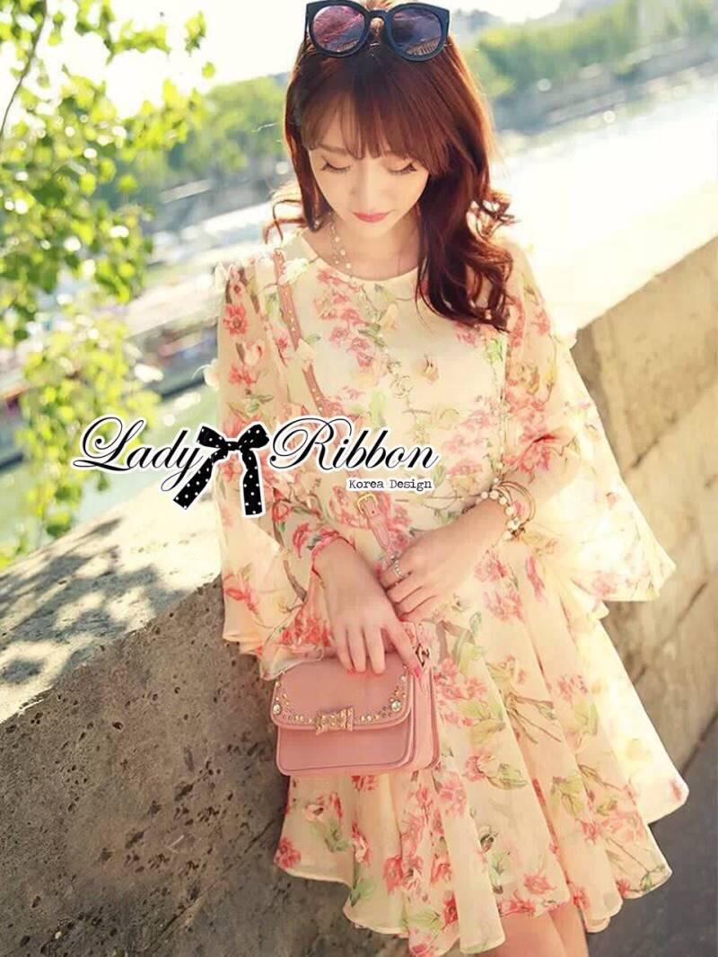 Lady Ribbon's Made Lady Sakura Chiffon Dress