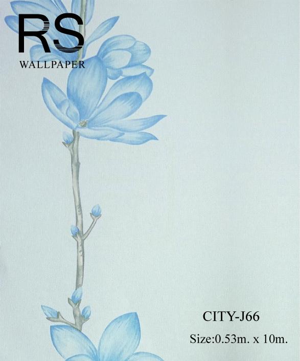 วอลเปเปอร์ลายดอกไม้ CITY-J66