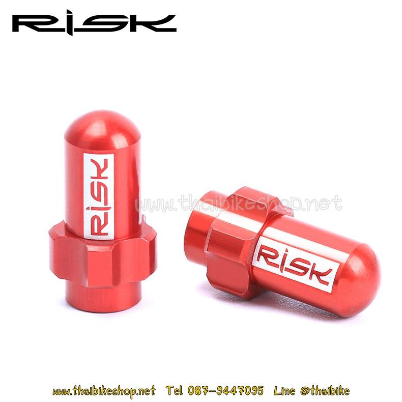 ฝาปิดจุ๊บเล็กอลูมิเนียม RISK FV18