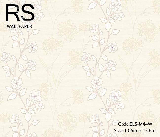 วอลเปเปอร์ลายดอกไม้ ELS-M44W