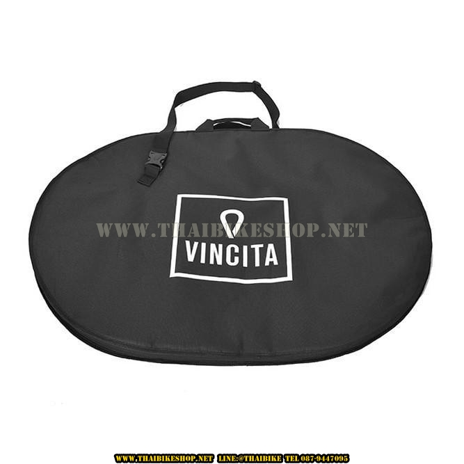 B191A กระเป๋าใส่ล้อคู่ ทรงรี ยี่ห้อ VINCITA