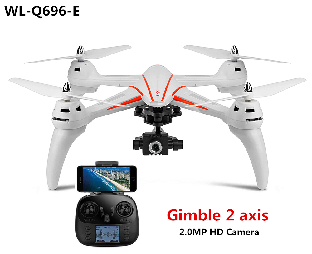 WL-Q696-E DRAGON 3 +Gimbal2 axis+2 MP Camera