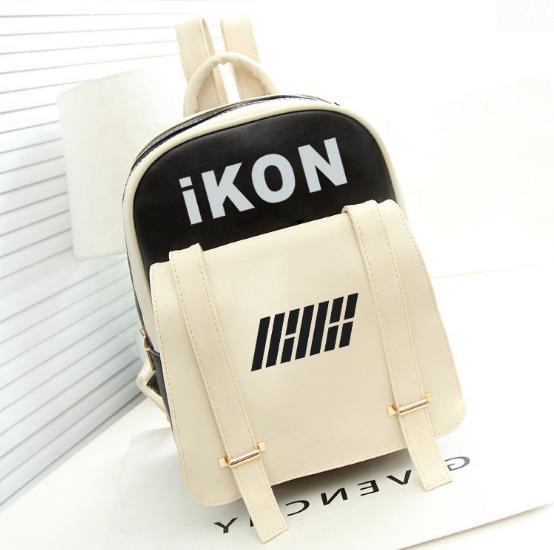 กระเป๋าหนังสะพายหลัง IKON (เลือกสี)