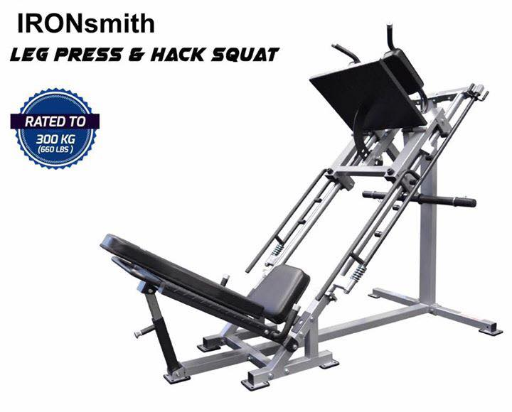 เครื่อง Leg Press + Hag Squat 2 in 1