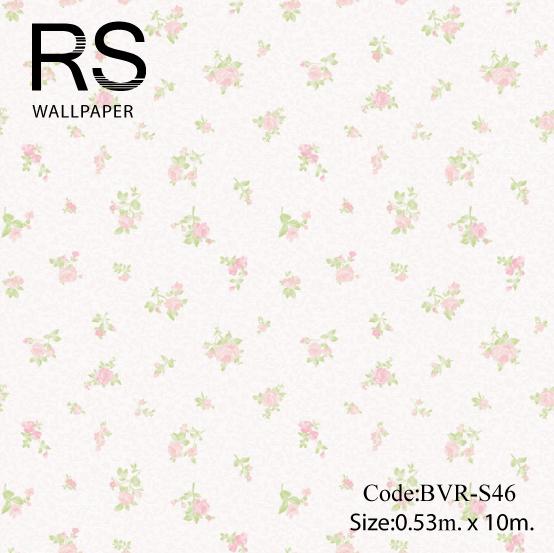 วอลเปเปอร์ลายดอกไม้ BVR-S46