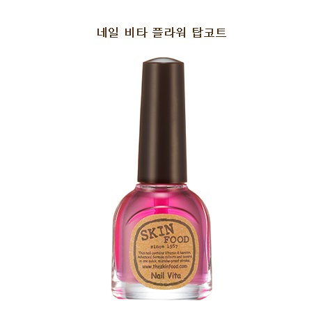 Skinfood Nail Vita Flower Top Coat